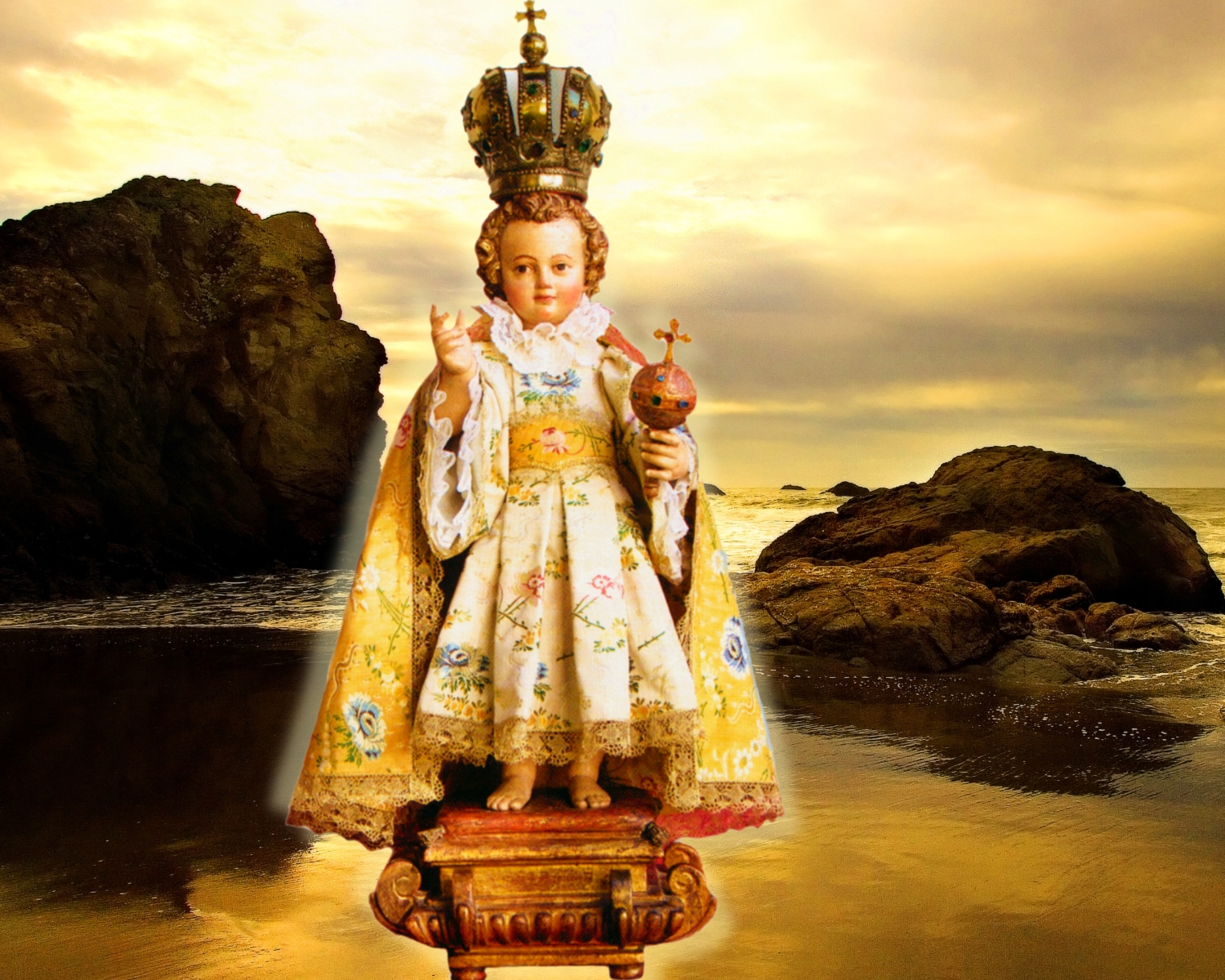 Prayer to infant jesus of prague holy card 99724 pictures to pin on