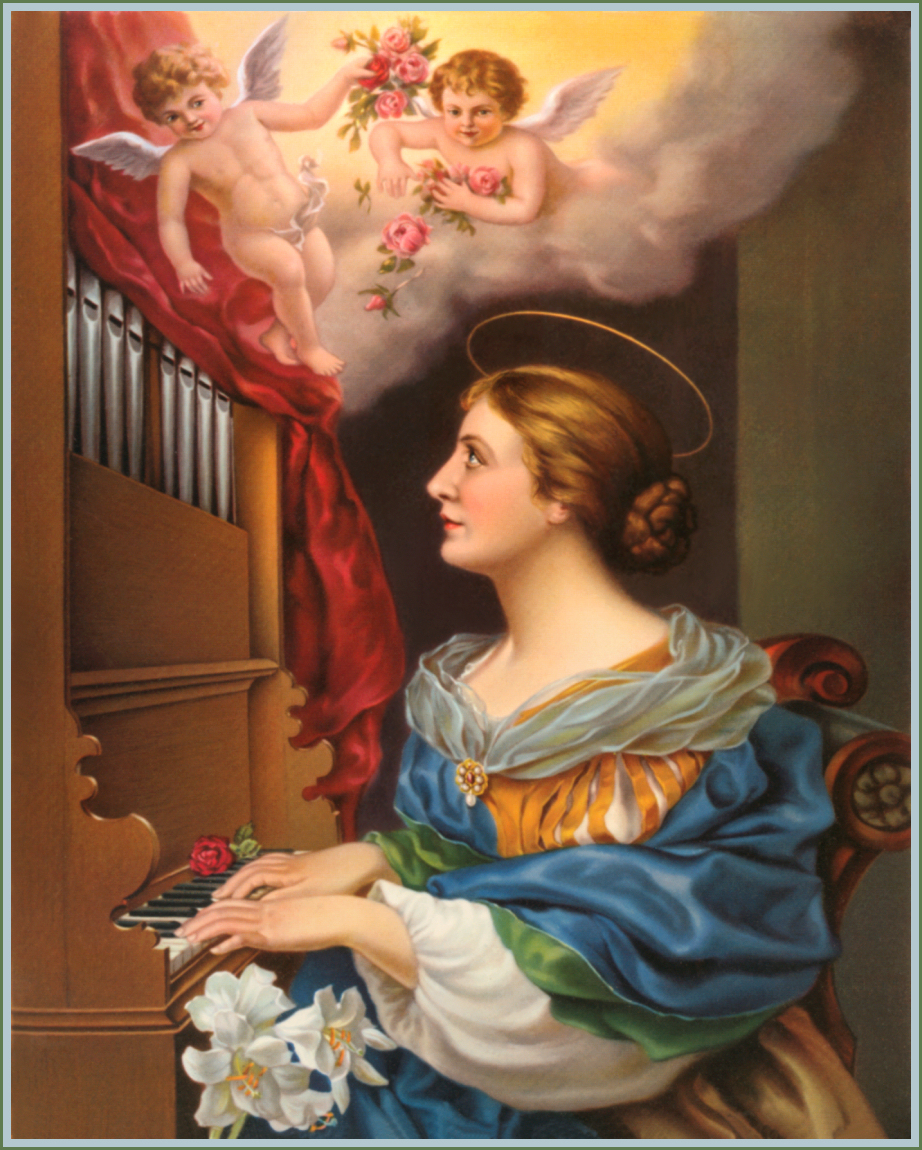 a comparison of saint cecilia and jesus christ Litany in honour of saint cecilia  illustrious martyr of jesus christ, pray for us saint cecilia, who during three days dist suffer most excruciating torments, pray for us saint cecilia, consolation of the afflicted, pray for us saint cecilia, protectress of all who invoke thee.
