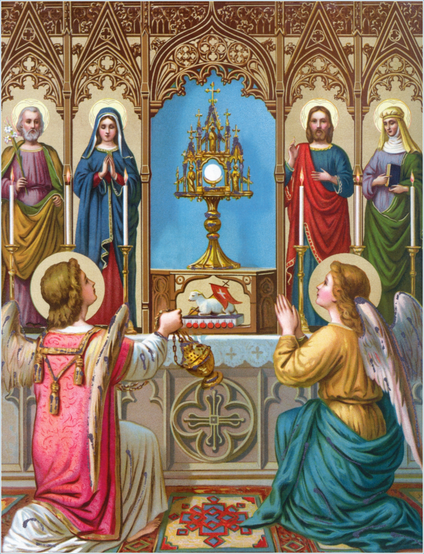 SPECIAL PRAYERS: THE HOLY EUCHARIST