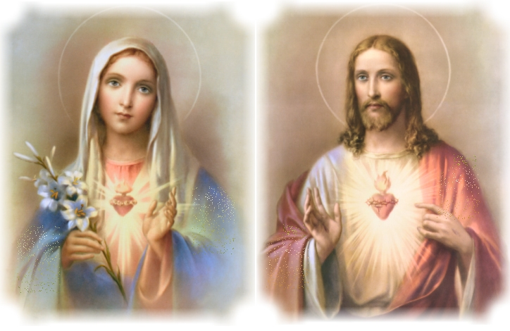 Immaculate Heart Of Mary And Sacred Heart Of Jesus