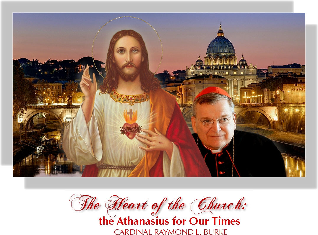 THE SACRED HEART WITH CARDINAL BURKE: BANNER