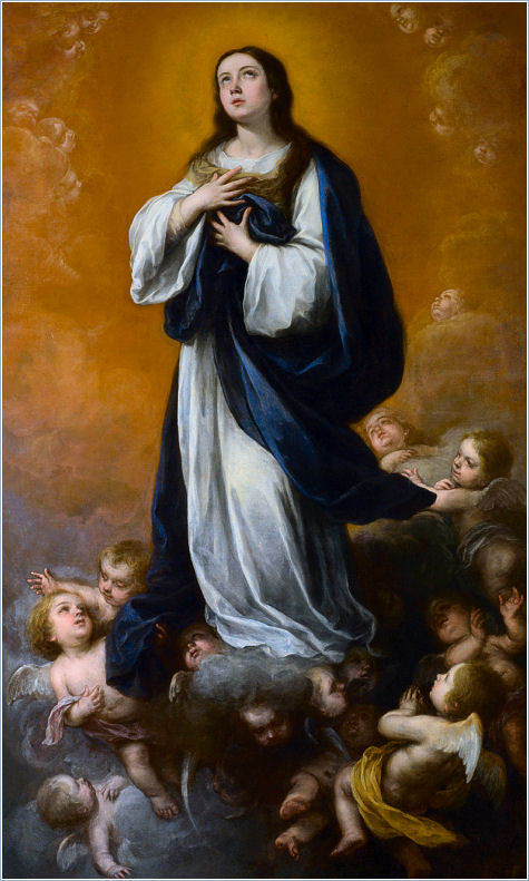 THE IMMACULATECONCEPTION BY MURILLO 1625